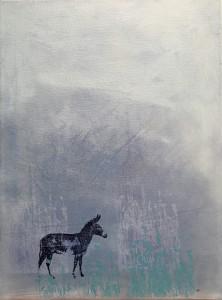 Acryl/Siebdruck, 40 x 30 cm, 2015
