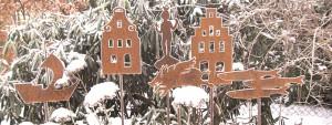 ... und im Winter schön ...