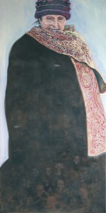 Öl auf Leinwand, 140 x 70 cm, 2008