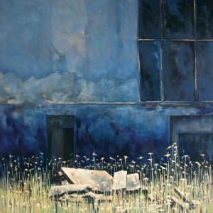 Acryl auf Leinwand, 140 x 140 cm, 2005
